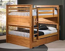 Bunk Bed Wooden Modern Loft Beds For Adults Ideas Wood Simple Bunk Bed For