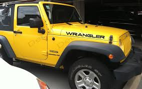 jeep wrangler logo decal jeep wrangler hood decals tj style and 50 similar items