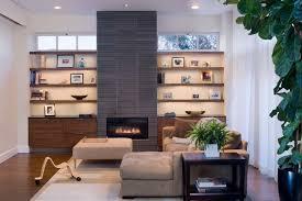 bedroom interior plant in modern living room plus bookshelves