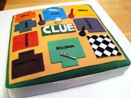 clue the board game birthday cake johnvantine com