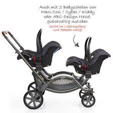 abc design zwillingskinderwagen abc design geschwisterwagen zwillingskinderwagen zoom