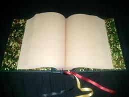 couverture de livre vierge mon grimoire fabriquer son grimoire