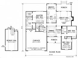 floor plan of a house with attic