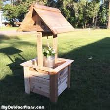 Free Woodworking Plans Diy Projects by Diy Wishing Well Planter Myoutdoorplans Free Woodworking Plans