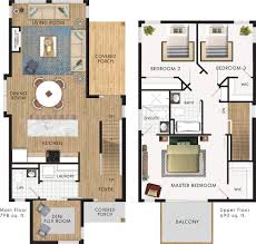 narrow floor plans contemporary design for narrow lot with flex room attached to a