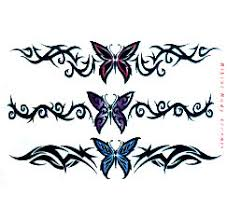 tribal butterfly designs for lowerback tattooshunt com