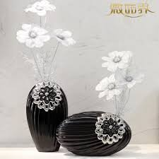 flower vase table ornaments tv cabinet ceramic living room landing