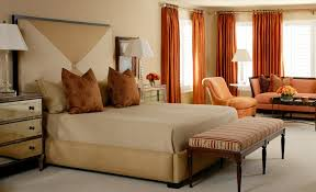 Pumpkin Colored Curtains Decorating Autumn Colors Prints And Patterns That Look Great On Curtains