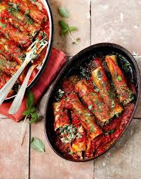 cuisine brousse cannellonis à la brousse et aux épinards régal