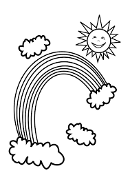 free printable rainbow coloring pages for kids clip art library