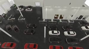 Floor Plan Car Dealership by Car Dealership 3d Presentation Youtube