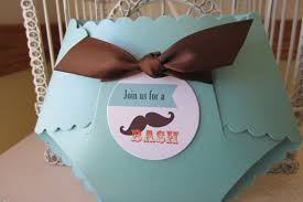 mustache themed baby shower mustache theme baby shower custom die cut other