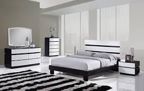 Black White Bedroom Furniture White Modern Bedroom Furniture Set Home Furnitures