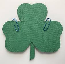 3d shamrock shadowbox for st patrick u0027s day clever little mouse