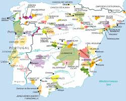 Mallorca Spain Map by Wine Map Of Spain Imsa Kolese