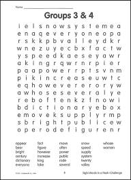 sight words in flash word search book 4 chalenging 026747