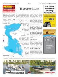 Map Of Saskatchewan Hackett Lake Angler U0027s Atlas