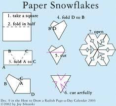 How To Make A Snowflakes Out Of Paper - 16 best paper cut out images on cut paper paper