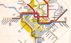 washington dc metro map national harbor metro grow from one line in 1976 to the silver line