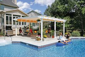 Pergola Designs With Roof by Retractable Roof Pergolas Covered Pergolas Attached Pergolas