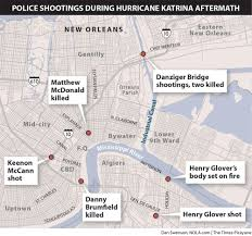 New Orleans Hotels Map by A Decade After Danziger Bridge Shooting Killings Still Cast A
