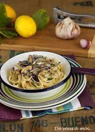 cuisiner des tellines de vous à moi spaghetti aux tellines à l ail et au citron