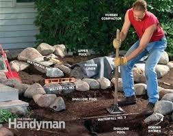 building a backyard waterfall u2013 mobiledave me