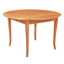 Round Cherry Kitchen Table by Round Shaker Style Dining Table Solid Cherry Wood Furniture