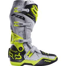 maverik motocross boots fox racing 2016 limited edition instinct a1 kroma boots grey