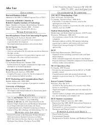 Mba Resume Format by Mba Resume Template Harvard Resume For Study