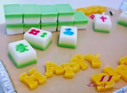 mahjong agar agar cake for potluck party anyone game
