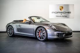 porsche carrera 2014 2014 porsche 911 4s carrera 4s for sale in colorado springs co