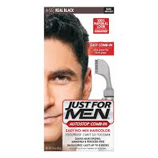 just for men shampoo in haircolor real black h 55 amazon com