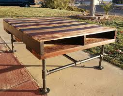 tables made out of pallets pallet and pvc pipe coffee table jpg 960 749 humble pie slice of