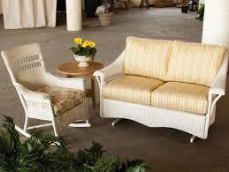 Wicker Glider Patio Furniture - premiere adirondack chairs promotes lloyd flanders wicker