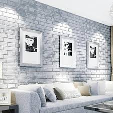 vinyl peel and stick wallpaper pvc brick stone pattern vinyl self adhesive wallpaper roll peel
