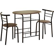 wood dining room tables and chairs small space furniture walmart com