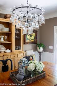 Glass Chandeliers For Dining Room How To Make A Wine Glass Chandelier Wine Glass Chandelier