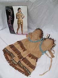 Pocahontas Halloween Costume Women Women Pocahontas Halloween Costume Size 10 14 Native American