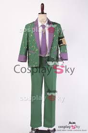 arkham city robin halloween costume batman arkham city the riddler dr edward nigma cosplay
