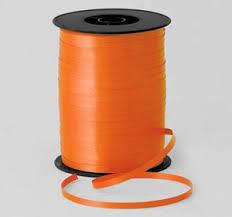 craft ribbon 5mm orange florist balloon curling ribbon craft ribbon x 500