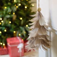 christmas tree shop ls buy hanging feather tree decoration the worm that turned