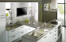cuisine gris et cuisine gris blanc idées de design maison faciles