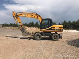 used jcb js 175 w wheeled excavators year 2006 price 47 916 for