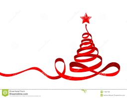 ribbon christmas tree royalty free stock image image 17087786