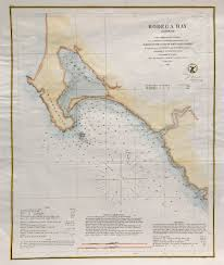 Map Of The Coast Of California U S Coast Survey Map Bodega Bay California 1862 Scrimshaw Gallery