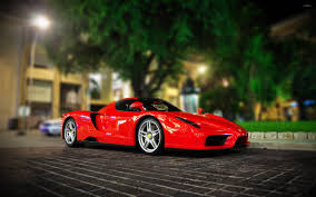 ferrari front view red enzo ferrari front side view wallpaper car wallpapers 51742