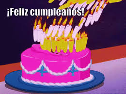 imagenes de pasteles que digan feliz cumpleaños tarta de cumpleaños soplar las velas pide un deseo gif