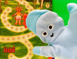 iggle piggle hand puppet toy night garden magazine