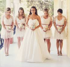 bridesmaid dresses lace wedding trends we lace bridesmaid dresses wedding by